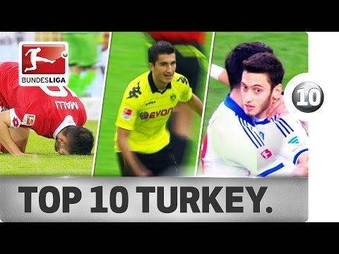 Top 10 Goals - Turkey - Update