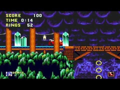 [TAS] Sonic 2 Return of Shadow Forgotten Cave Zone By Joseph