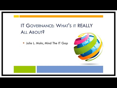 IT Governance: What's It REALLY All About?