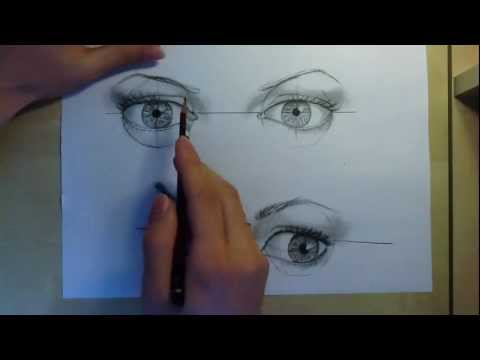 tips-on-drawing-the-eyes:-part-2---three-quarter-view