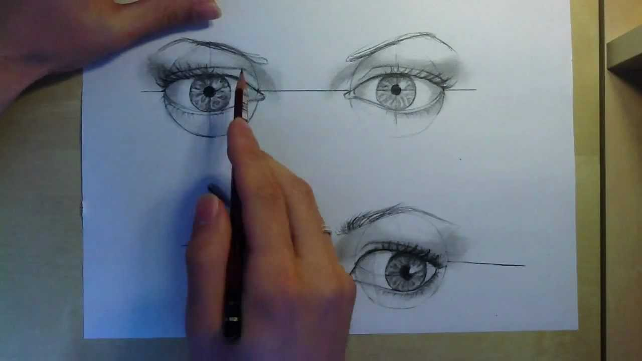 three quarter view how to draw