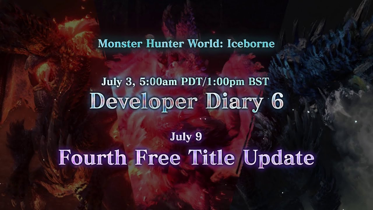 Monster Hunter World: Iceborne - Developer Diary 6 Coming Soon!