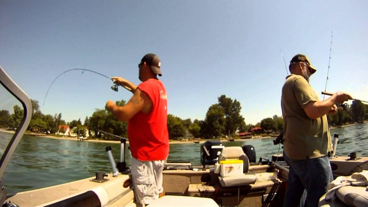 Fishing erieau ontario