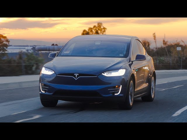 Model X Final Review: White Seats & Crazy Doors
