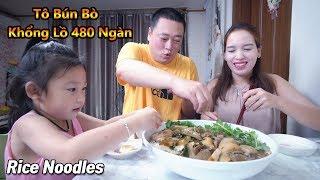 Tô Bún Bò Khổng Lồ 480k Ngày Mưa Gió (Jumbo Rice Noodles) [Cuộc Sống Hàn Quốc]