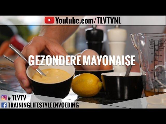Gezondere mayonaise maken