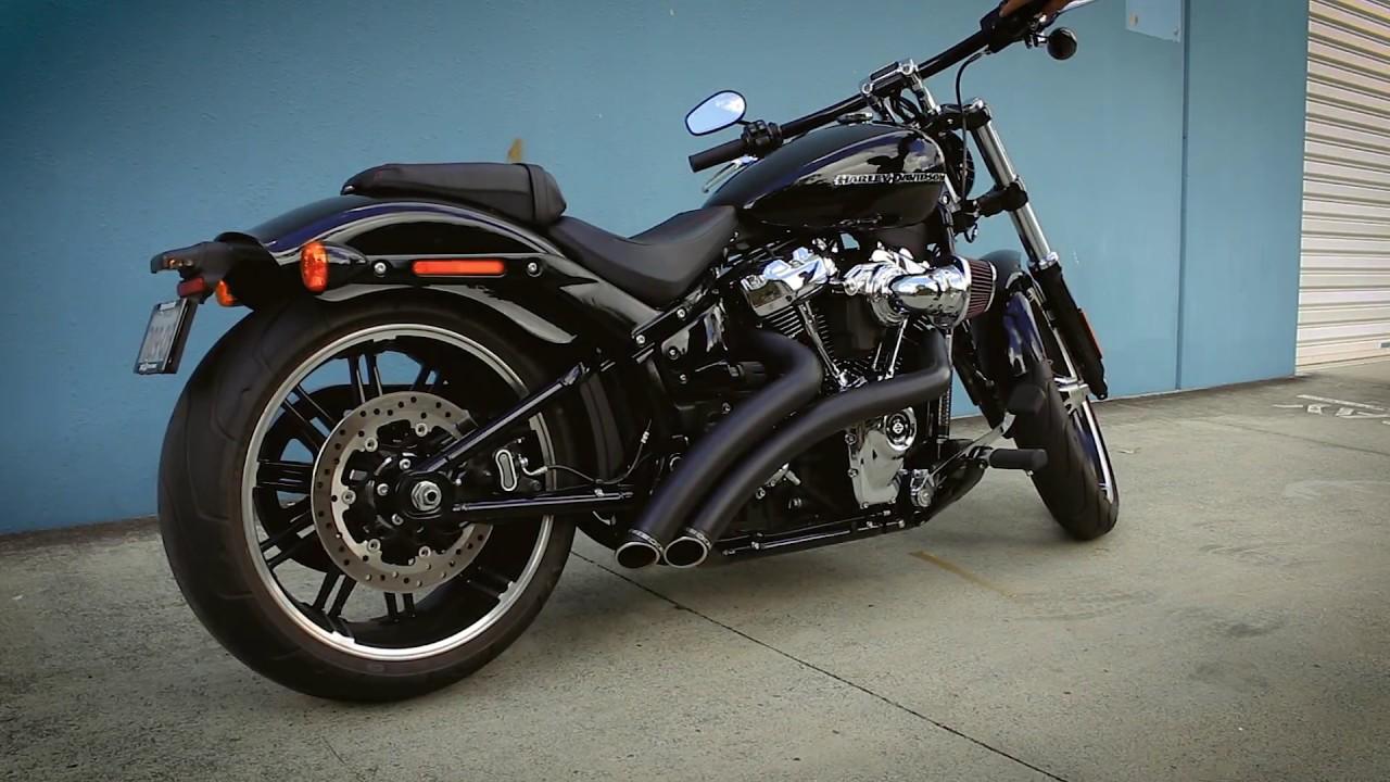 Harley Davidson Softail Exhaust System