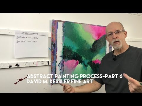 Abstract Painting / Abstract Painting Process-Part 6