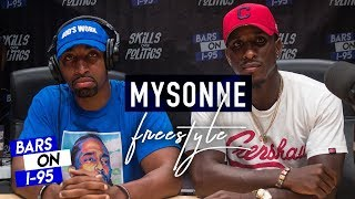 Смотреть клип Mysonne Bars On I-95 Freestyle