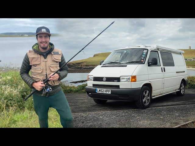 I WASN'T EXPECTING THAT! VanLife In Orkney Scotland