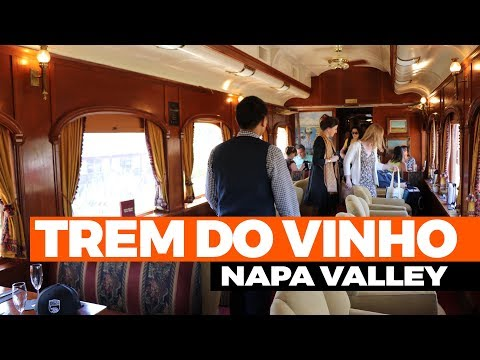 Trem do vinho, Wine Train Napa Valley, California