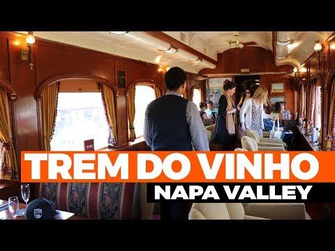 Trem do vinho, Wine Train Napa Valley, California
