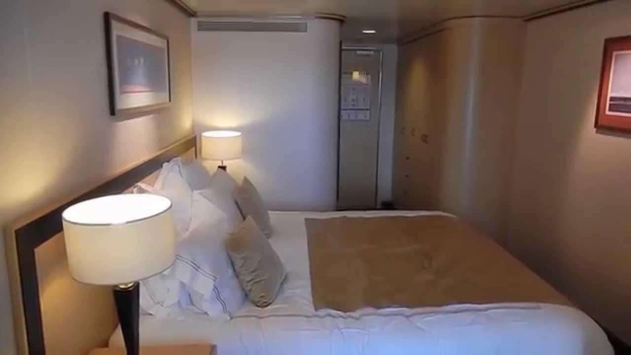 Qm2 Sheltered Balcony Cabin 5206 Youtube