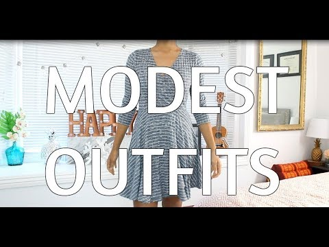 MODEST OUTFITS | Winter/ Spring Lookbook 1