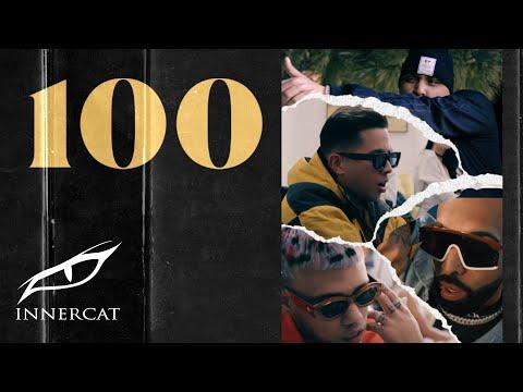Los G4, Jhay Cortez, Darell, De La Ghetto, Eladio Carrión - 100 (Official Music Video)