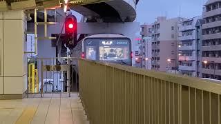 Osaka Metro中央線24系4編成森ノ宮行き発車シーン