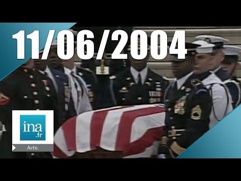20h France 2 du 11 Juin 2004 - Obsèques de Ronald Reagan | Archive INA