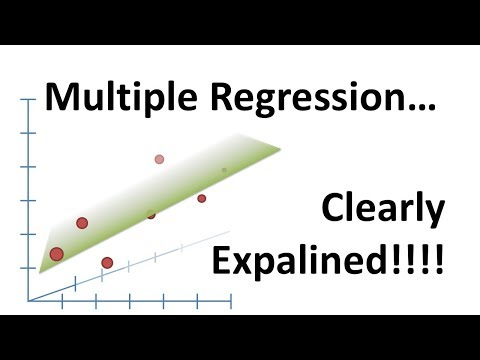 StatQuest: Linear Models Pt.1.5 - Multiple Regression