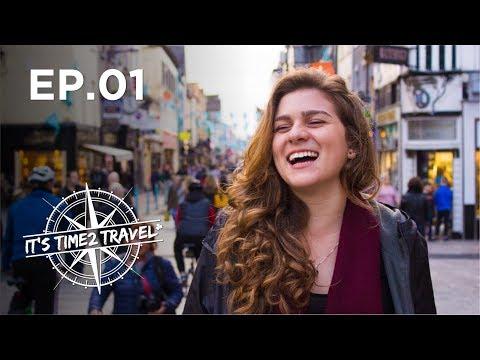 CAÍ DE PARAQUEDAS NA IRLANDA | It's Time2 Travel | S02 E01