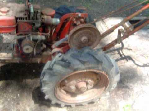 Chor Trac 2 Wheeled Garden Tractor Youtube