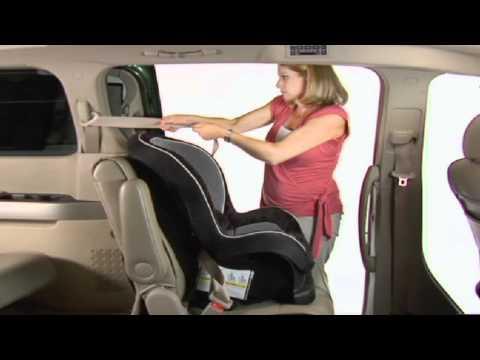 Forward Facing Child Seat Installation