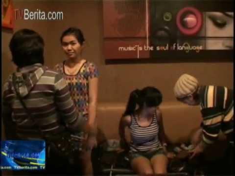 Tempat Karoke Inul Vista Karawang, Dan DIVA, Dirazia, 3 Gadis ABG Cantik Ditangkap Konsumsi Narkoba