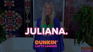 JULIANA. Performs At Dunkin Latte Lounge