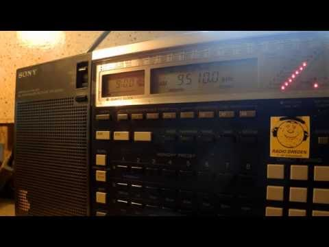 20 12 2014 IRRS Shortwave relay Radio City in German and English 0900 on 9510 Tiganesti