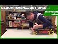 GLOOMHAVEN Board Game Kickstarter Unboxing