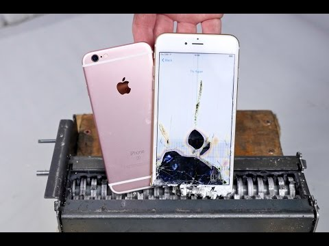 Thumbnail: Paper Shredder vs iPhone 6S - Can You Shred an iPhone?