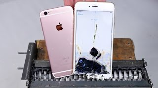 Repeat youtube video Paper Shredder vs iPhone 6S - Can You Shred an iPhone?