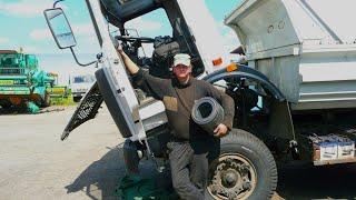 91-Д.Ремонт зарядки АКБ и замена масла на МАЗ-5551