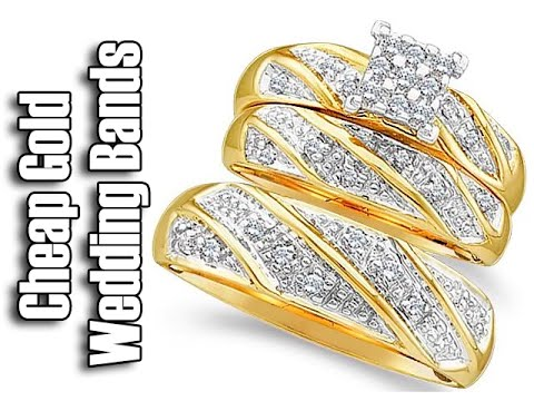Cheap Gold Wedding Bands Matching Wedding Bands His And Hers Wedding Bands  White Gold