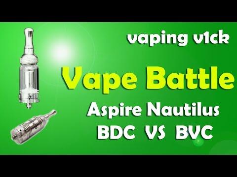 Vape Battle - New Nautilus BVC vs Old BDC Atomiser Heads