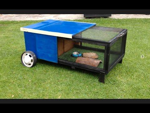 Blue Tongue Lizard Hutch Build - Outdoor Enclosure