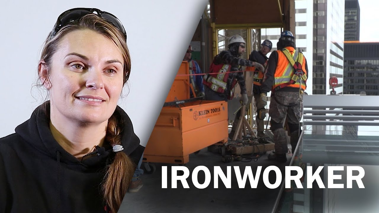 Job Talks - Ironworker - Jamie McMillan Talks about Skilled Trades in this  Job Talk