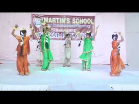 Swagat Karte Ham, Welcome song - Martin's School, Agra - Cultural Program, 2016