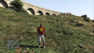 grand theft auto v franklin buys chop a black chain collar r2 hunt for pick ups gun ammo ps3
