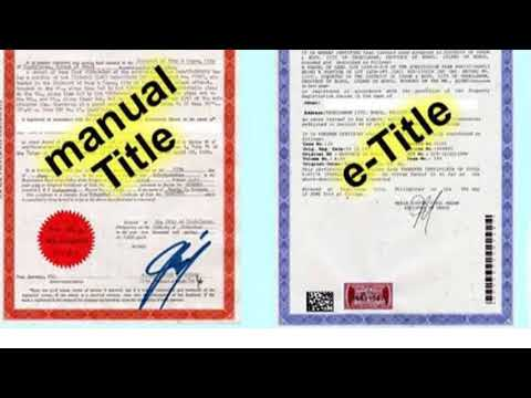 Ways to check land titles in the Philippines (English Version)
