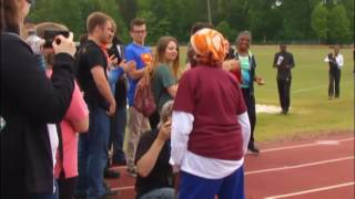 100-year-old sets world record for 100-meter dash