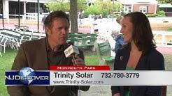 Trinity Solar Monmouth Park Interview 2013 - NJ Discover
