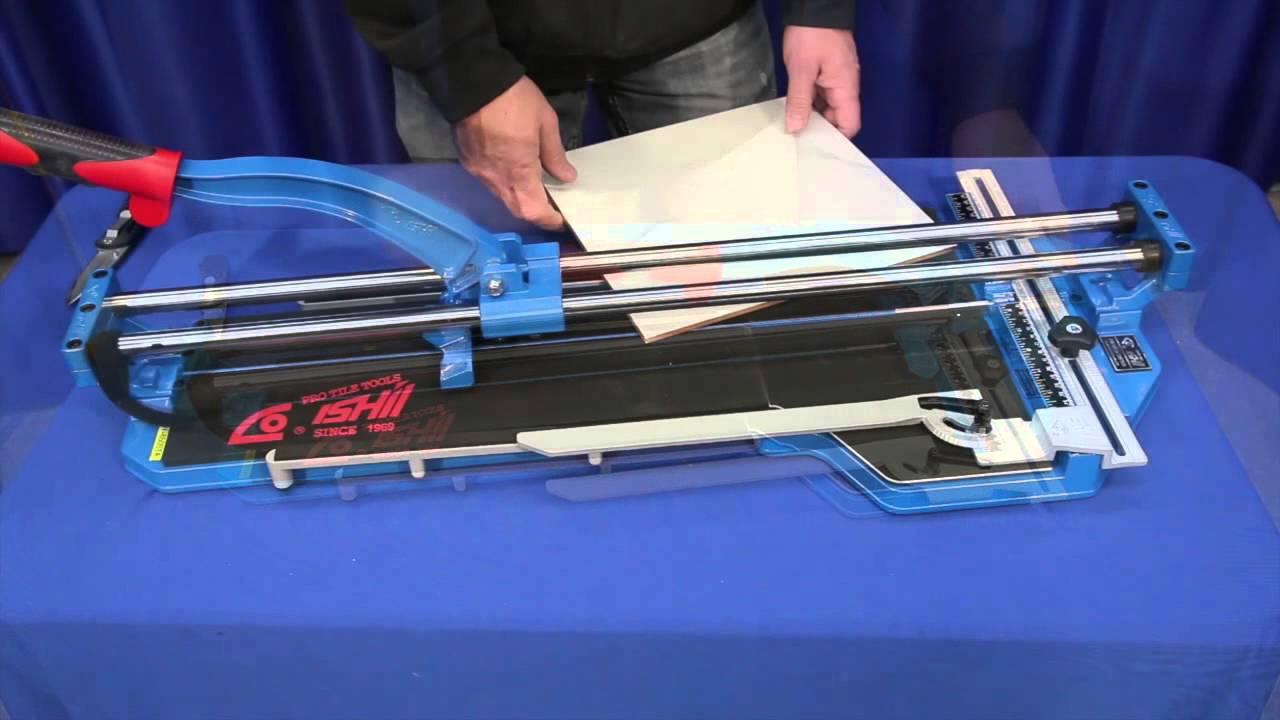 Ishii Big Clinker Blue Tile Cutter Assembly Amp Demo Youtube