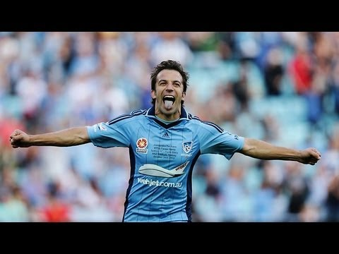 Del Piero's First Goal For Sydney FC - Curler Free Kick