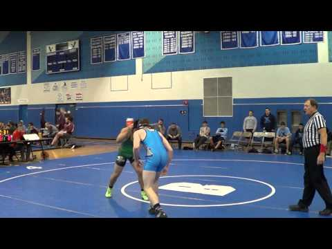 Freshman Harrison Wrestler 171lbs vs Waterford Mott High School Corsairs