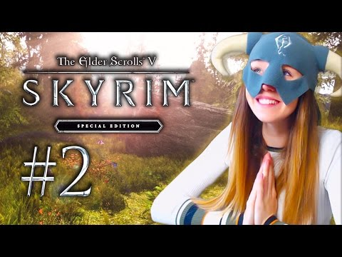 SKYRIM SPECIAL EDITION! - BECOMING DRAGONBORN!