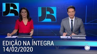 Assista à íntegra do Jornal da Record | 14/02/2020