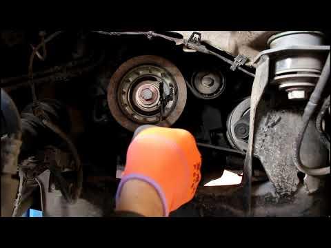 Замена комплета приводного механизма ГРМ на Range Rover Evoque 2,2 Ленд Ровер Эвок 2011 года 1часть