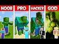 Minecraft - NOOB vs PRO vs HACKER vs GOD : ZOMBIE MUTANT in Minecraft ! AVM SHORTS Animation