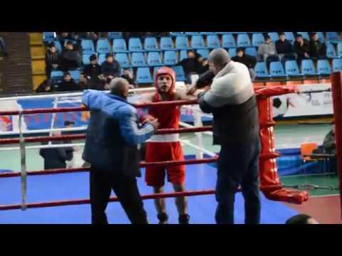 Чемпионат Армении по боксу среди молодежи Гурген Какоян (Мартуни)-Ашот Агекян(Ереван Малатя)