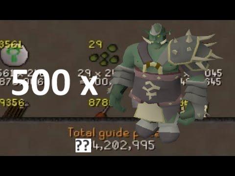 Loot From 500 Bandos Kills (General Graador)